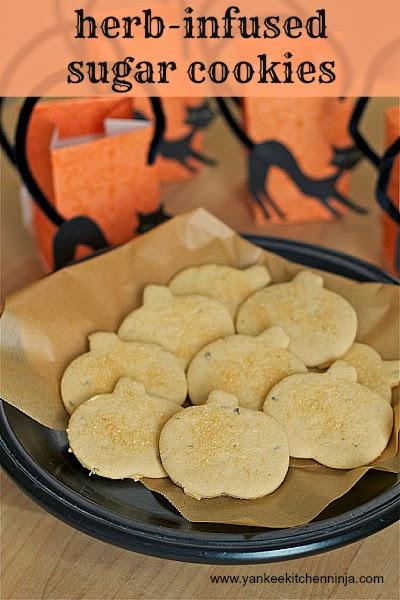 herb-infused sugar cookies