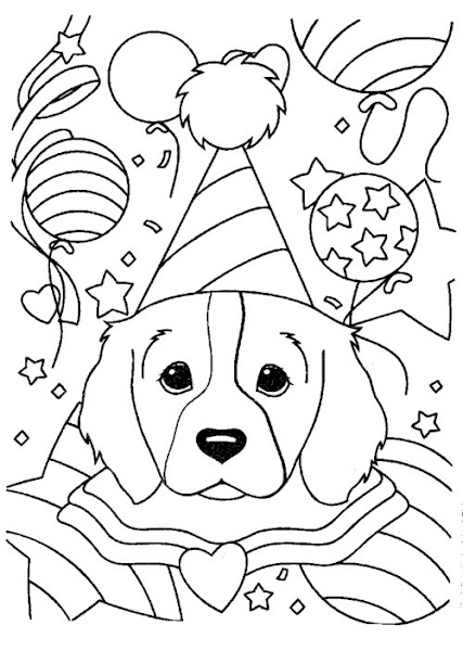 Lisa Frank Girl Coloring Pages
