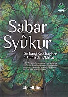 toko buku rahma: buku SABAR DAN SYUKUR, pengarang ulya ali ubaid, penerbit amzah