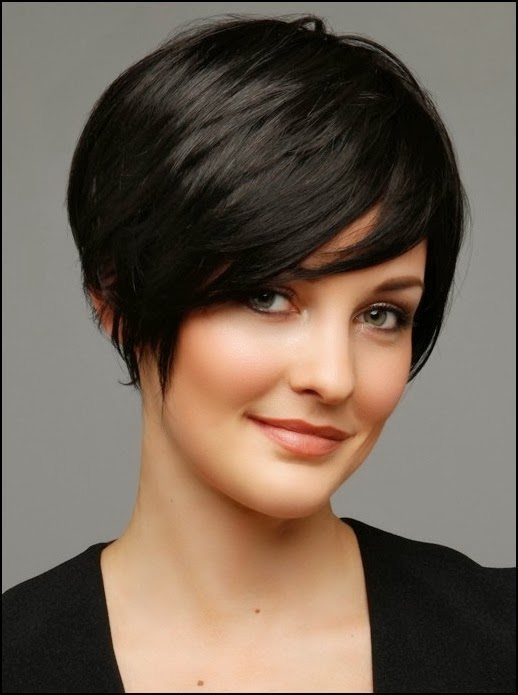 Round Faces Short Hairstyles 2015 Haircuts Hairstyles