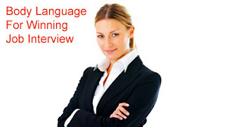 Body Language For Winning Job Interview