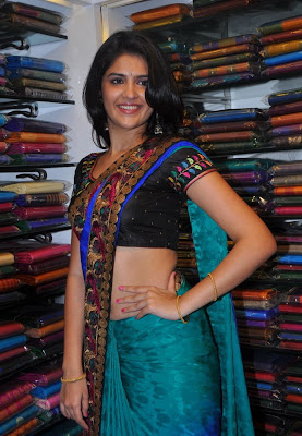 Hot Deeksha Seth in Saree