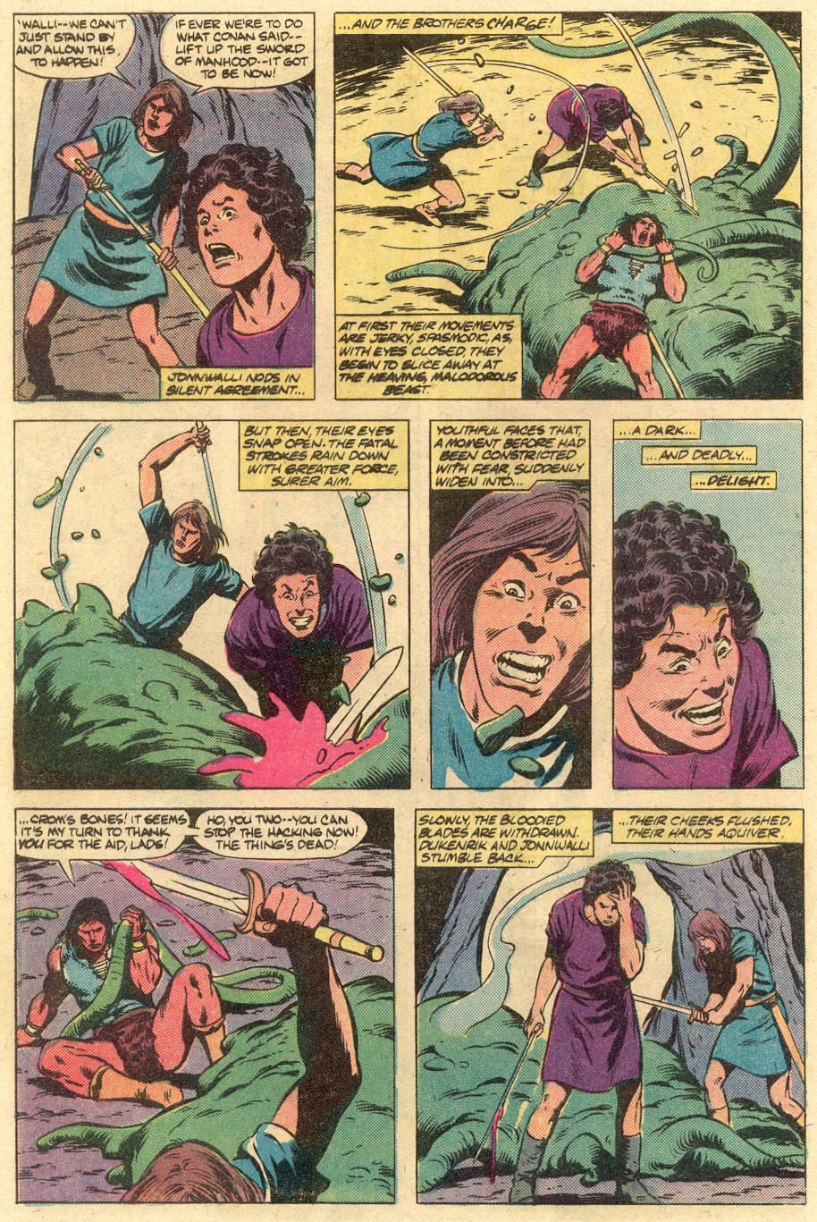 Conan the Barbarian (1970) Issue #125 #137 - English 20