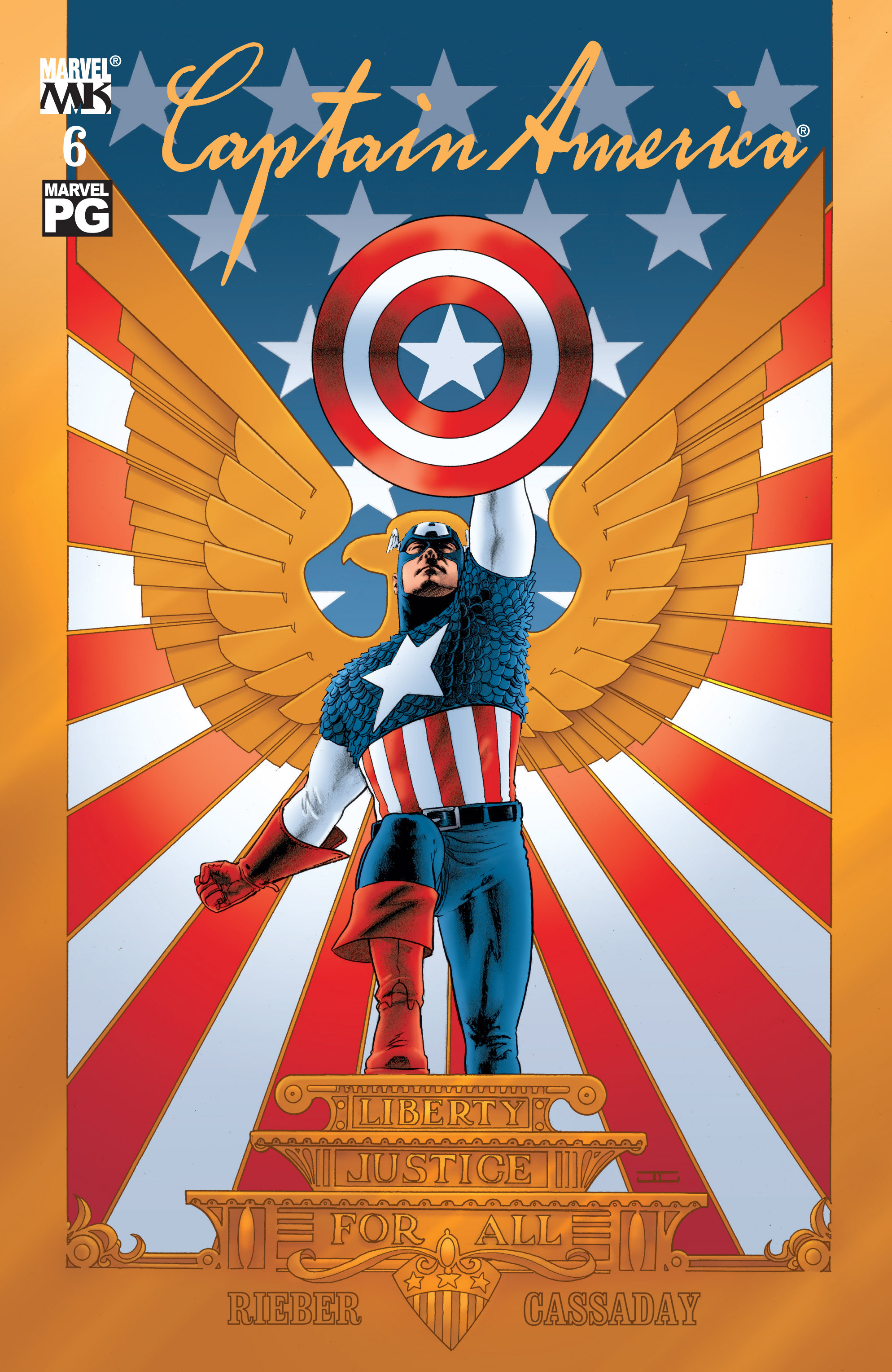 Captain America (2002) Issue #6 #7 - English 1