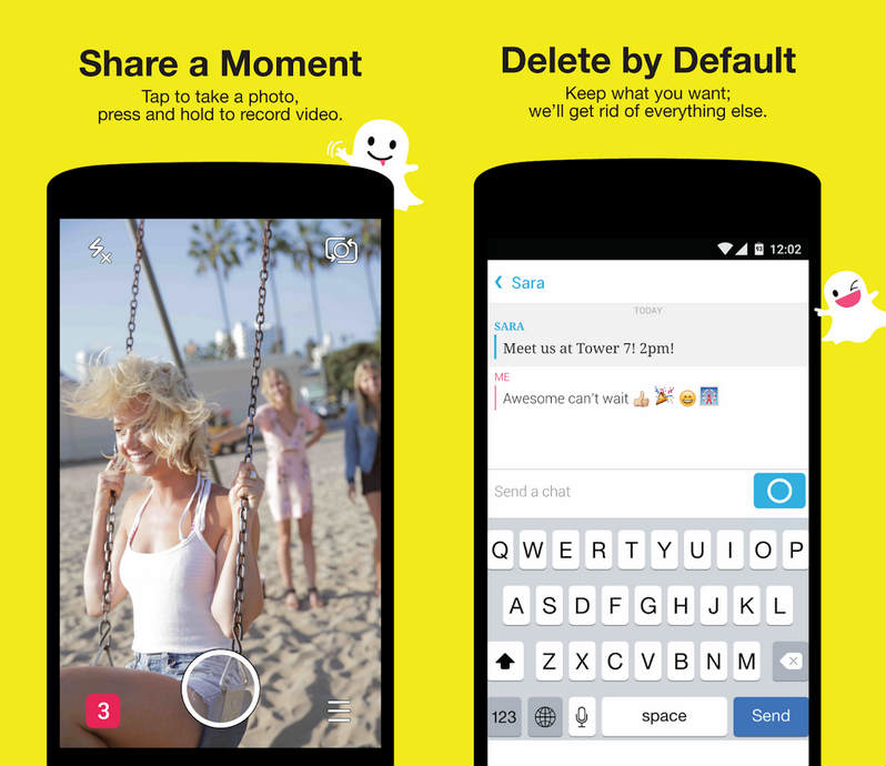 Snapchat For PC Features