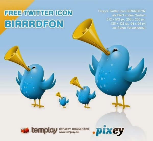 Pixey Birrrdfon Twitter Icons