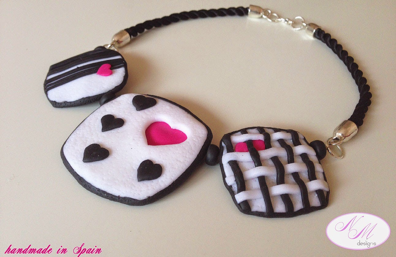 "Collar ""Hearts Inspiration"" NM Designs"