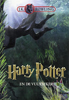 Harry Potter en de vuurbeker J.K. Rowling cover