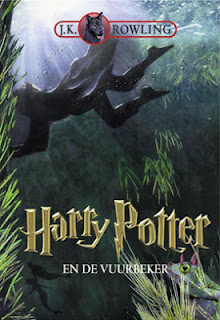 Harry Potter en de vuurbeker J.K Rowling cover