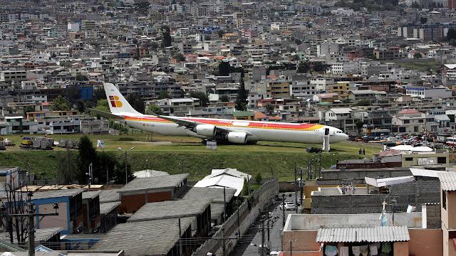 Aeropuertos peligrosos: Quito