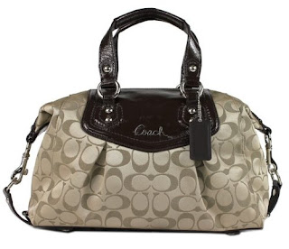 Coach Ashley Signature Satchel F19242 New with Tag