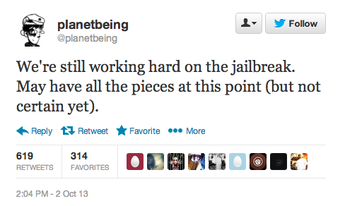 report ios 7 untethered jailbreak