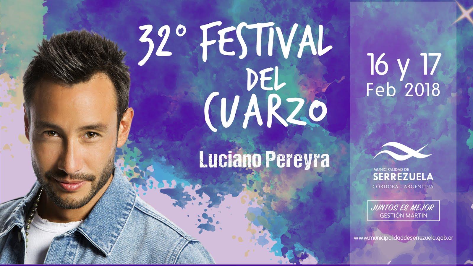 32º Festival del Cuarzo en Serrezuela