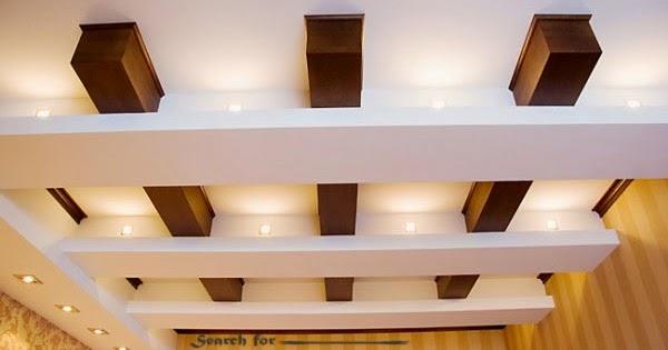 Japanese false ceiling design for small living room