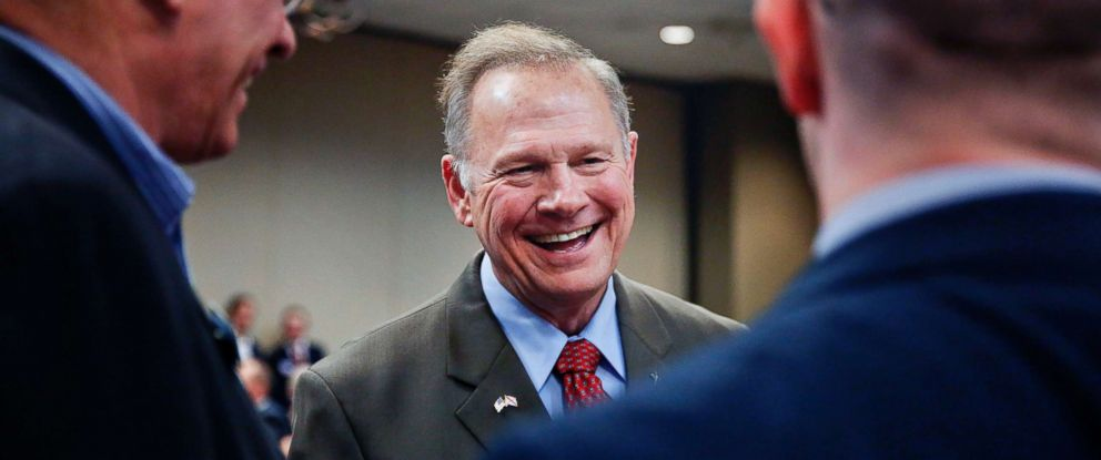 ALABAMANS SHOW ROY MOORE SOME LOVE: VOTE ROY MOORE