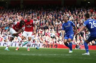 Hasil Liga inggris Tadi Malam 29 September 2012 Arsenal Chelsea