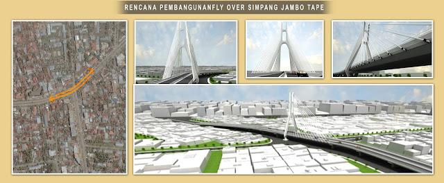 Rencana Pembangunan FlyOver Jambo Tape Banda Aceh
