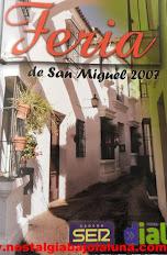 REVISTA FERIA SAN MIGUEL ARCOS CADENA DIAL 2007