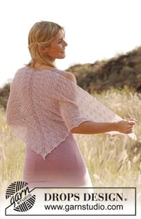 Oppskrift på strikket sjal