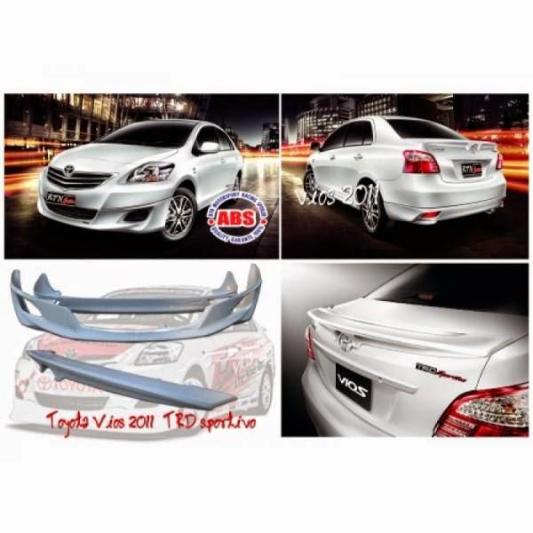 Body Kit Toyota Vios TRD 2011