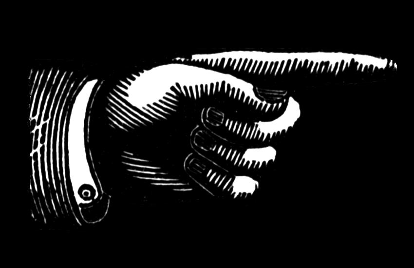 vintage snips and clips finger pointing clip art rh vintagesnipsandclips blogspot com finger pointing up clipart finger pointing right clipart