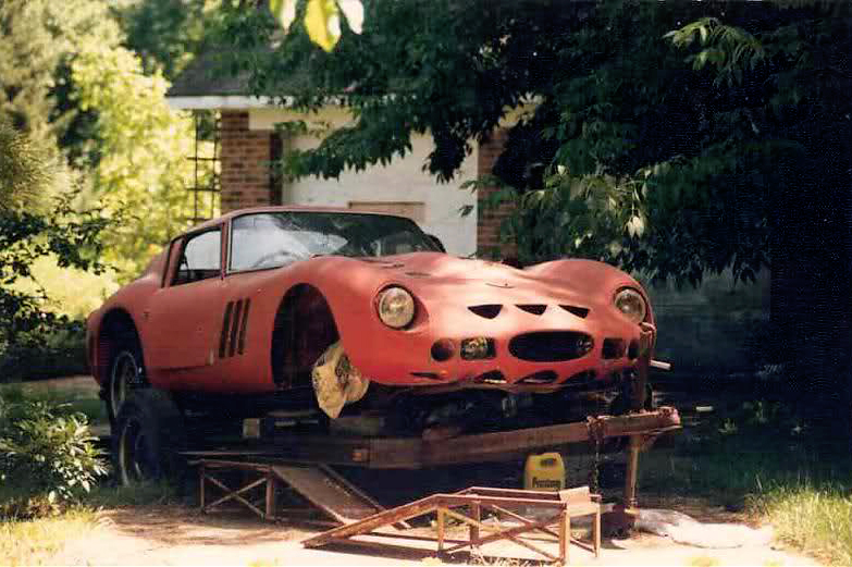 Just A Car Guy Ferrari 250gto Out To Pasture For 2decades