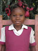 One of my sponsored children from Haiti