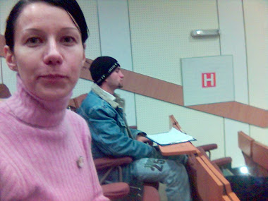 Olivia Maria Marcov, dec 2005, in Ion Ghica 13, s. 3, Amfiteatrul Studio