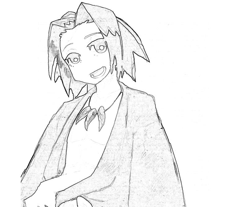 printable-shaman-king-yoh-asakura-happy-coloring-pages