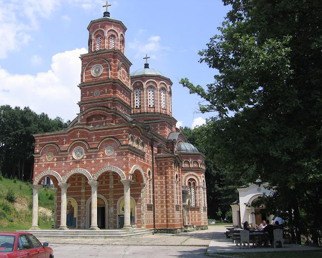 Djunis Monastery, the Church of the Holy