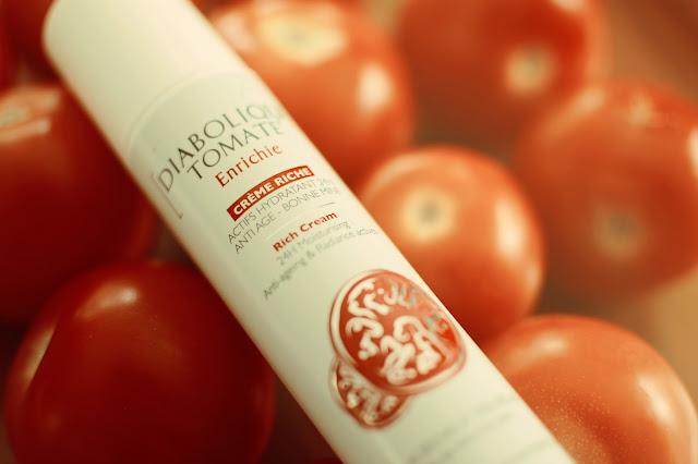 diabolique tomate, enrichie, garancia, crème hydratante teintée, beauté, beauty test
