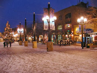 Boulder, Pearl Street Mall, Colorado, Christmas