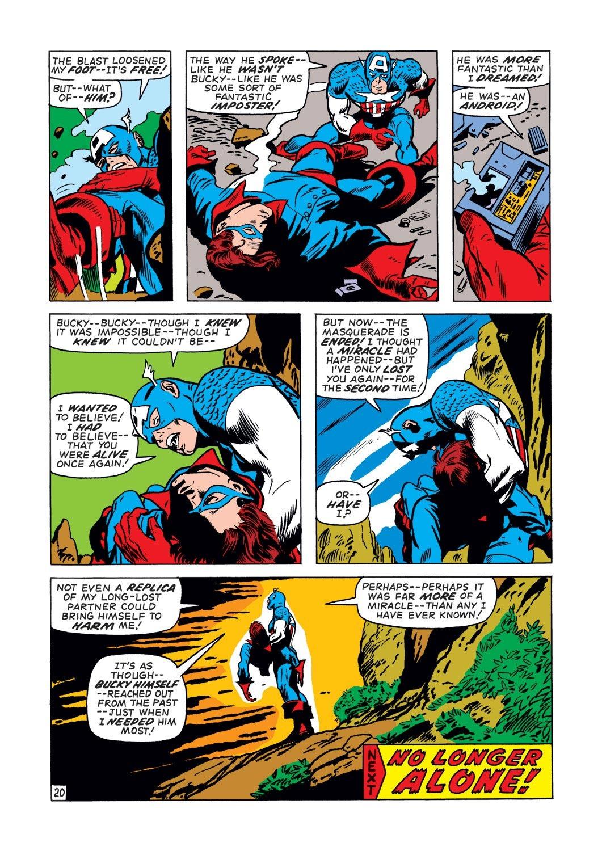 Captain America (1968) Issue #132 #46 - English 20