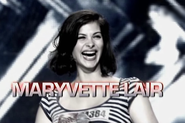 X-Factor 2011 Maryvette l'accordéoniste Edith Piaf