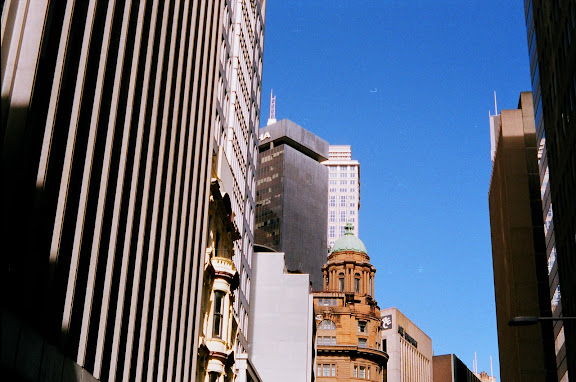 Urban sprawl - Sydney CBD