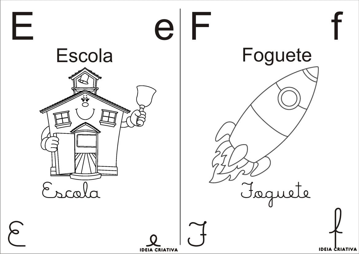 Companheiros da educa o alfabeto para colorir 4 tipos for Tipos de estanques para acuicultura