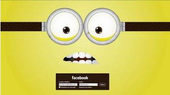 Cara Mengubah Tampilan Facebook Minions