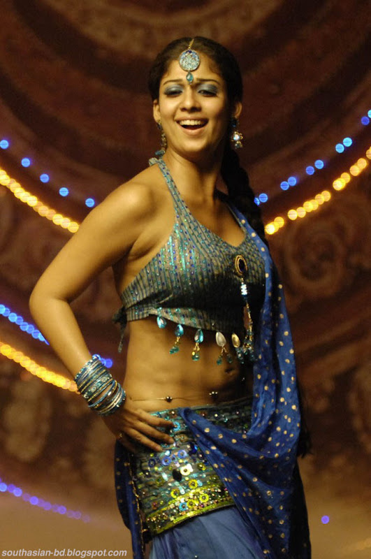 Nayantara In Super Kannada Movie Hot Navel Show Photos Pics gallery pictures