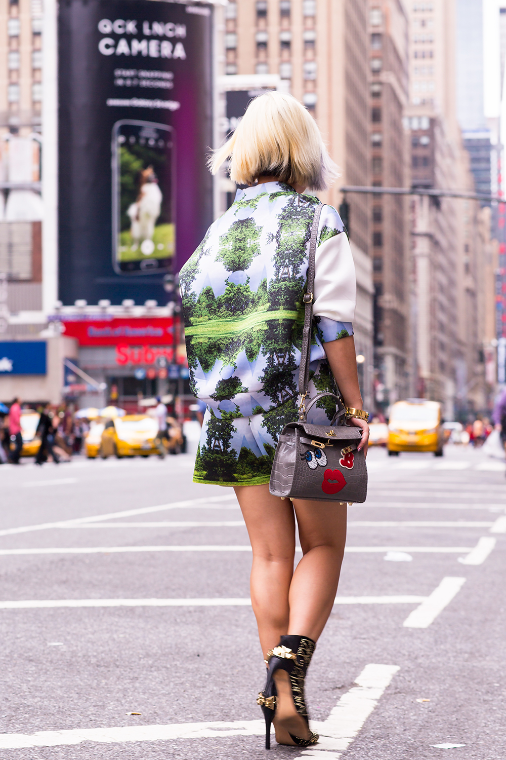 Crystal Phuong- New York Fashion Week 2015- Outfit