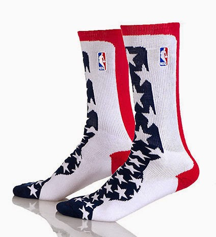 NBA Veterans Day Game Crew Socks