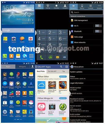 Custom Rom Samsung Galaxy Note 3 Untuk Evercoss A66A