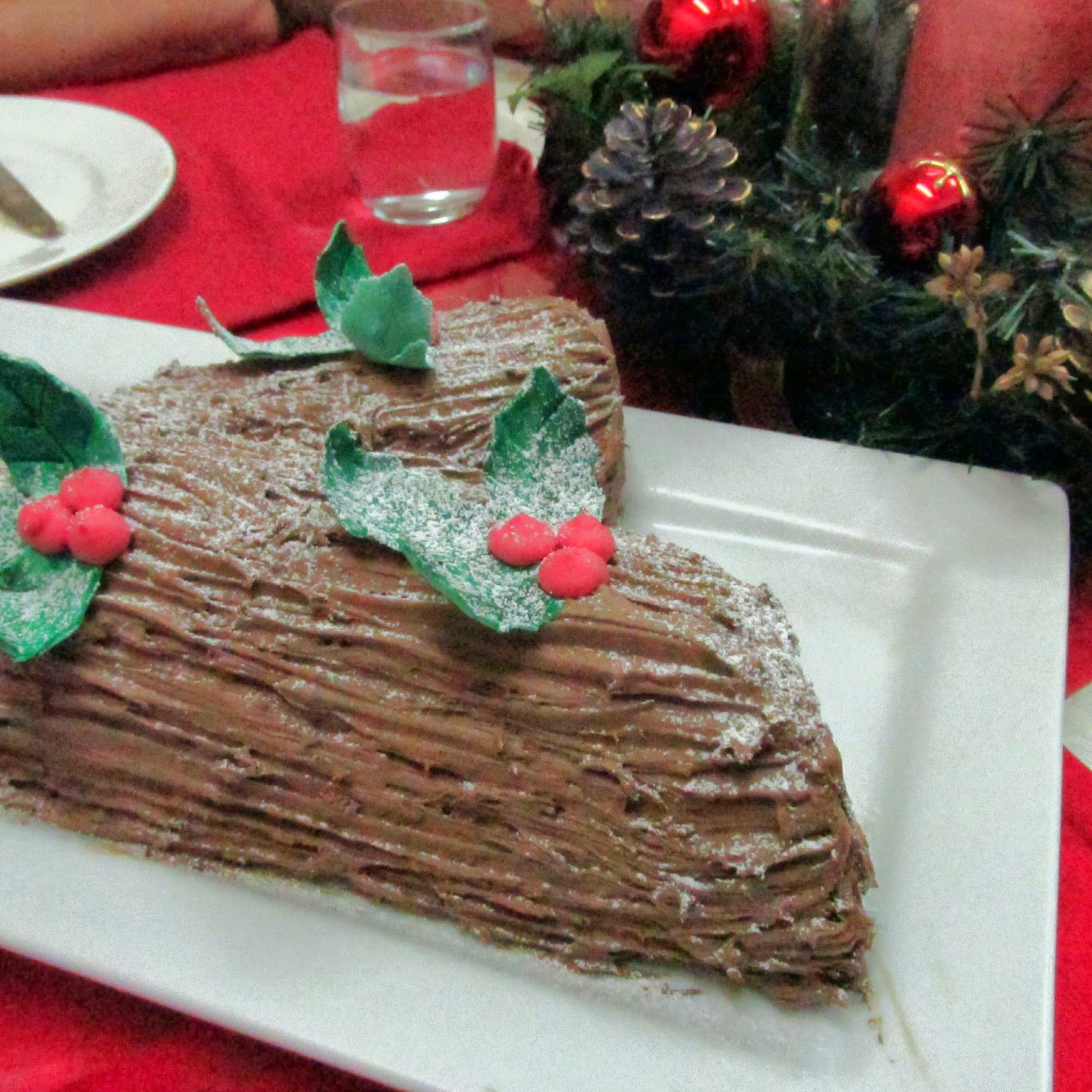 Darlene Cooked this: Yule Log