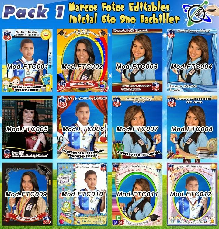 Plantillas De Marcos para Fotos Tamaño Carta y Postal en Photoshop ...