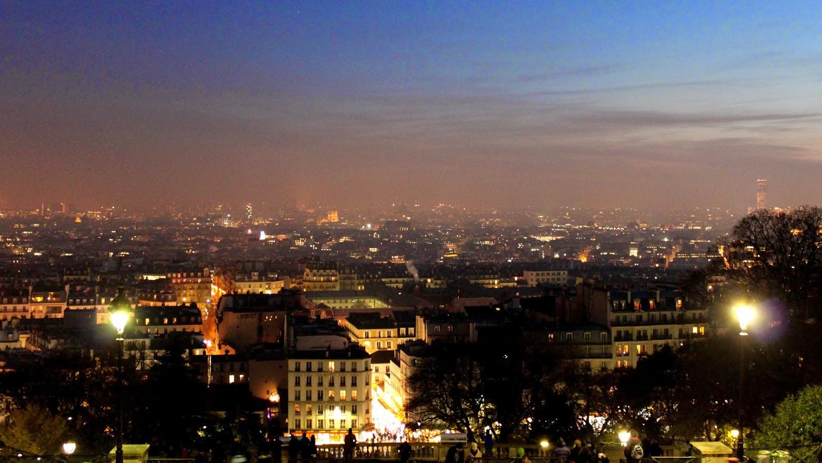 Basílica del Sagrado Corazón París Vistas