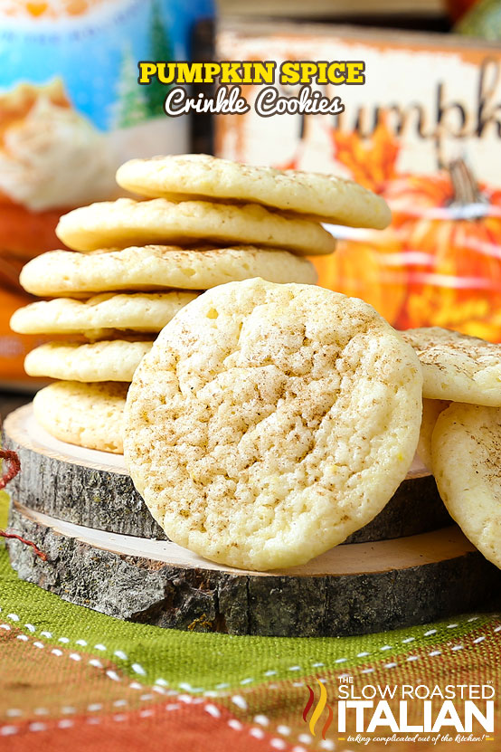 http://www.theslowroasteditalian.com/2015/11/pumpkin-spice-crinkle-cookies-recipe.html