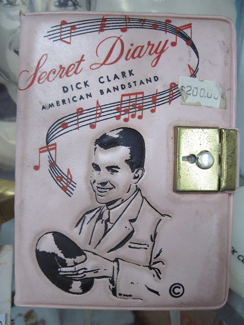 Old New York will always remember Dick Clark's Rockin' New Years Eve and as the founder of American Bandstand, he just so happened to keep a secret diary that could have been purchased at Colony Records.