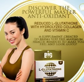 BIG500 Reduced L-Glutathione with Hydrolyzed Collagen and Vitamin C