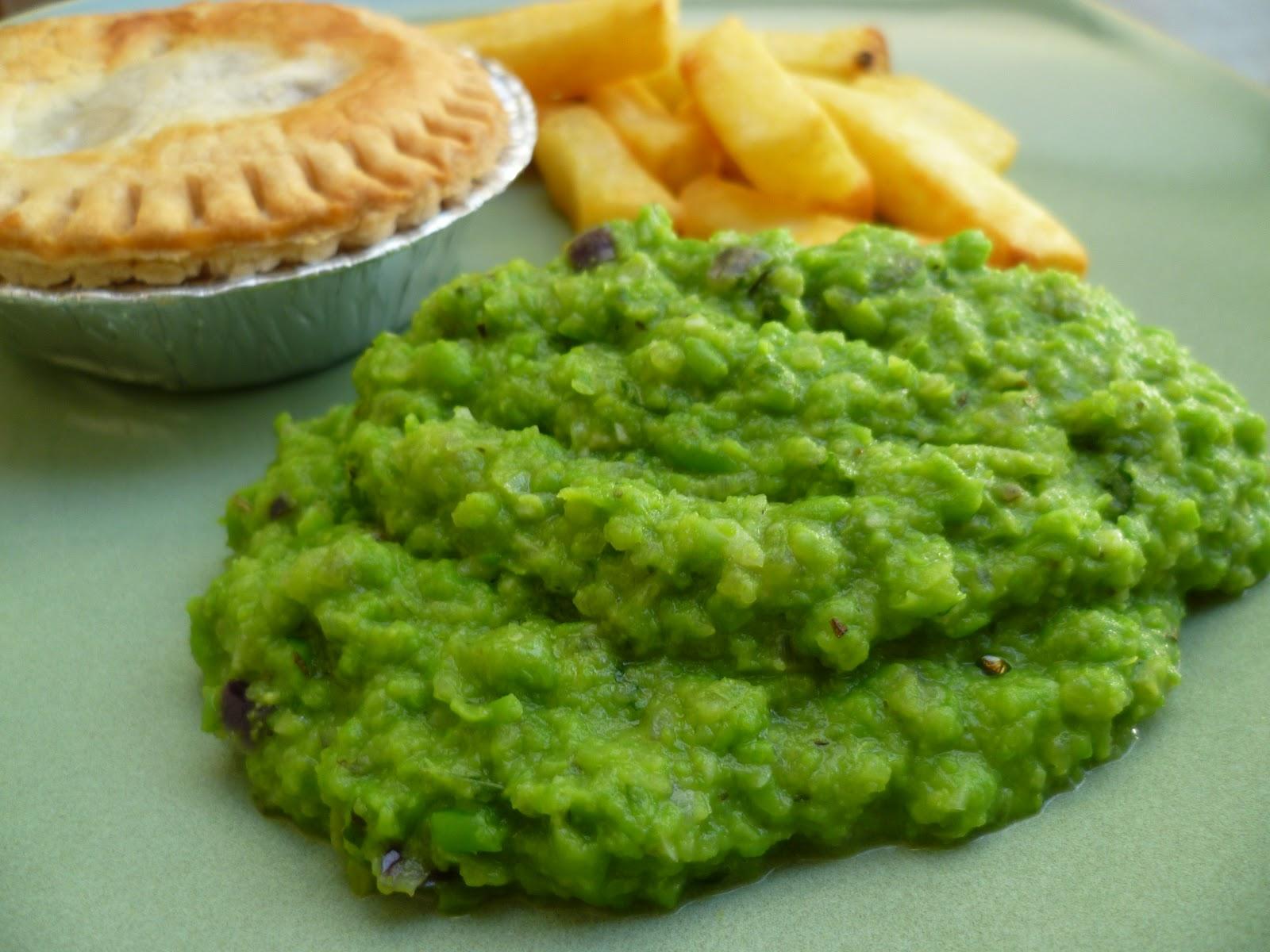 Vegetarian Food FTW: Minted Mushy Peas