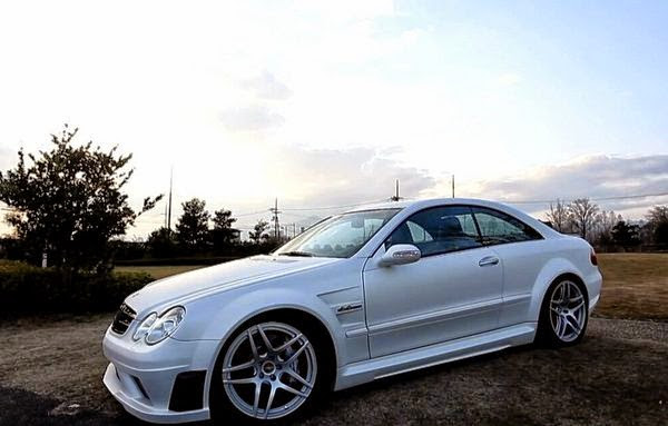 mercedes clk 63 rk design