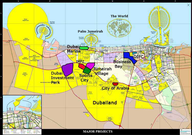 Dubai UAE Tourist Destinations